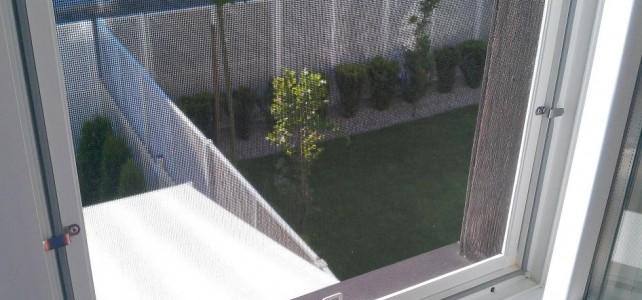 Czy w moskitierach okiennych można wymienić siatkę na nową?