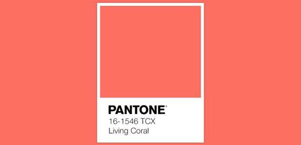Living Coral kolorem roku 2019 Pantone.